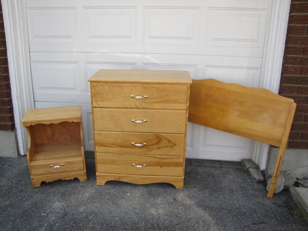Solid Maple Bedroom Set Nepean Ottawa