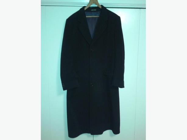 Men's Overcoat & Peacoat, LG in size