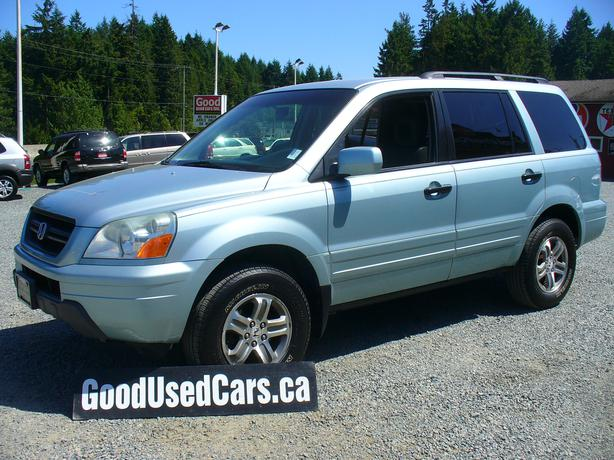 2003 honda pilot very clean 8 passenger outside comox valley campbell river. Black Bedroom Furniture Sets. Home Design Ideas
