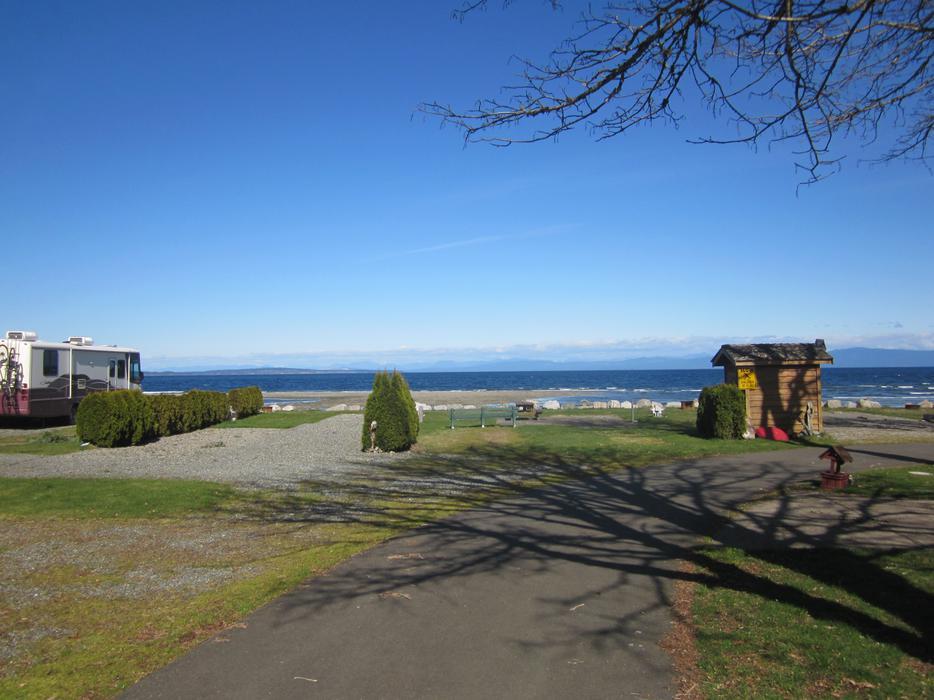 RV Resort Lot For Rent In Beautiful Qualicum Bay BC