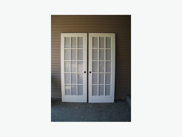 Interior French Doors Qualicum Parksville Qualicum Beach