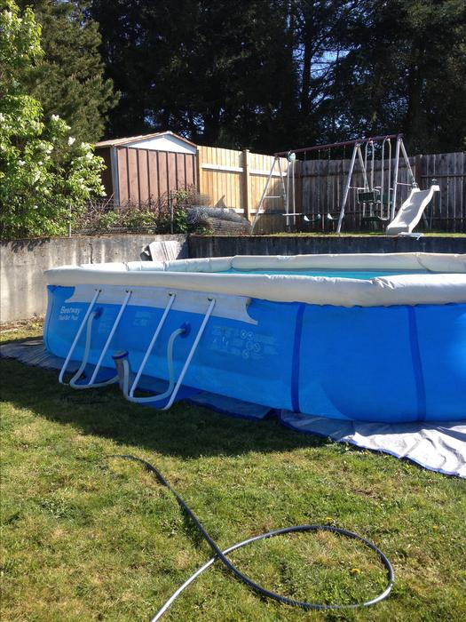 12x20 Above Ground Pool South Nanaimo Parksville Qualicum Beach Mobile