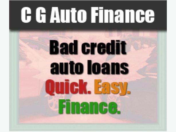 Bad Credit Auto Loans. C G Auto Finance