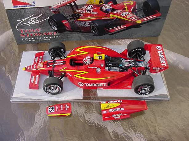 Action 1/18 Scale Tony Stewart Target/Home Depot IRL Indy 500 Car