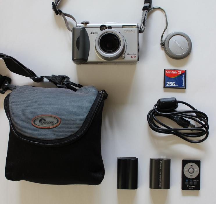 Canon Power Shot (PowerShot) G3 camera in excellent ...