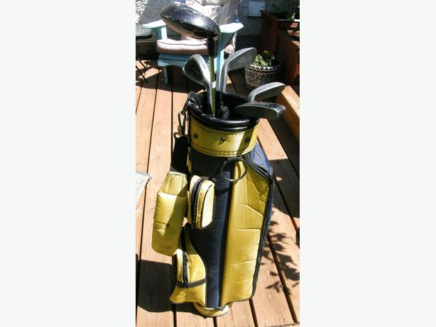 6 piece junior cadegear right hand golf set gc east kildonan winnipeg. Black Bedroom Furniture Sets. Home Design Ideas