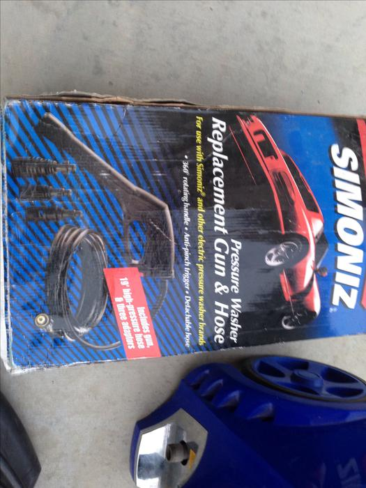 Simoniz 1900 pressure washer rural regina regina for Housse auto canadian tire