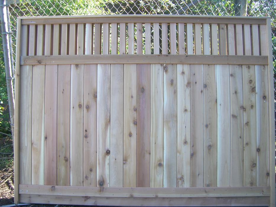 Cedar 6x8 Lattice Fence Panels On Sale 79 99 South