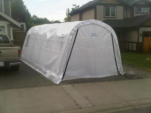 Car Boat Shelter : Brand new car boat shelter never been used west shore