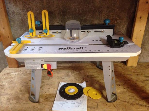 Wolfcraft router table kensington pei for Table wolfcraft