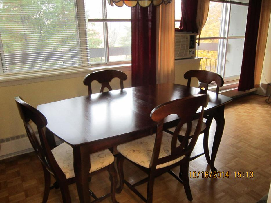 cherry wood dining room set great deal orleans ottawa mobile