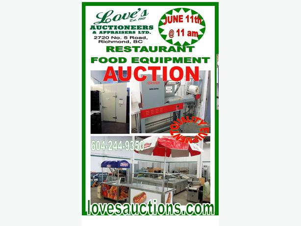 Portable Vending Hot Dog Carts On The Auction Block