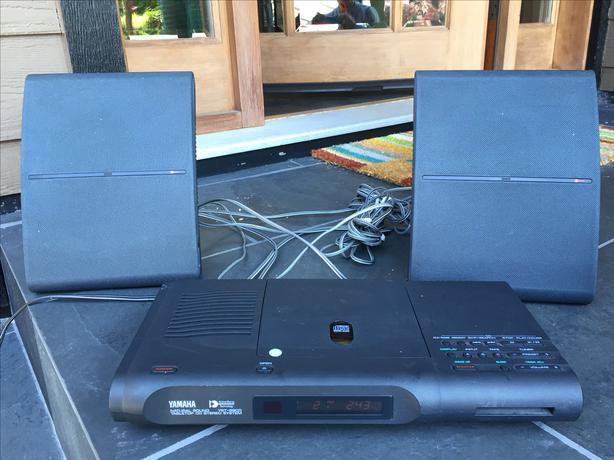 Yamaha Yst 99cd Table Top Audio System North Nanaimo