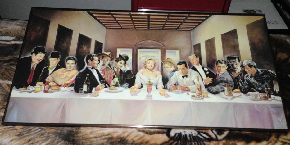 Last supper marilyn bogart elvis gable and more for 100 taunton terrace oshawa