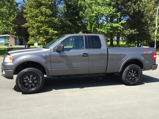 2004 ford f 150 fx4 fully loaded 4x4 courtenay courtenay comox. Black Bedroom Furniture Sets. Home Design Ideas