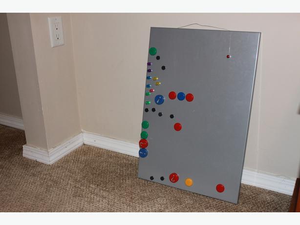 ikea magnet board saanich victoria. Black Bedroom Furniture Sets. Home Design Ideas