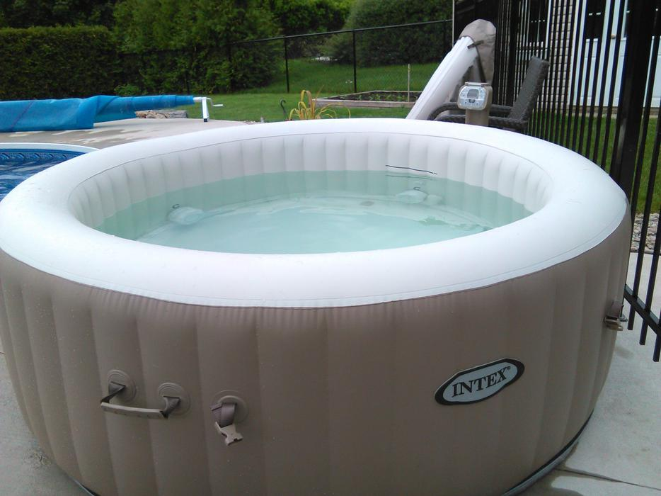 intex purespa bubble therapy portable spa aylmer sector quebec ottawa mobile