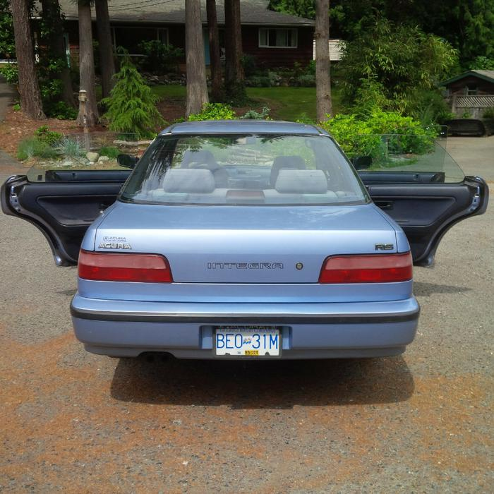 "1990 Acura Integra RS Automatic""TRADES"" Malahat (including"