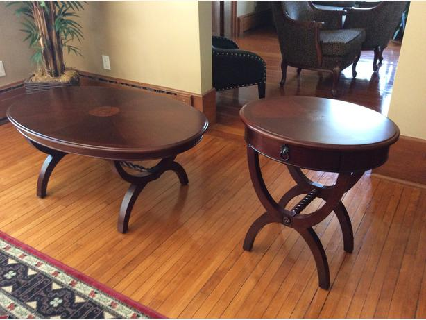 Coffee table matching end table brockville st lawrence Matching coffee table and end tables