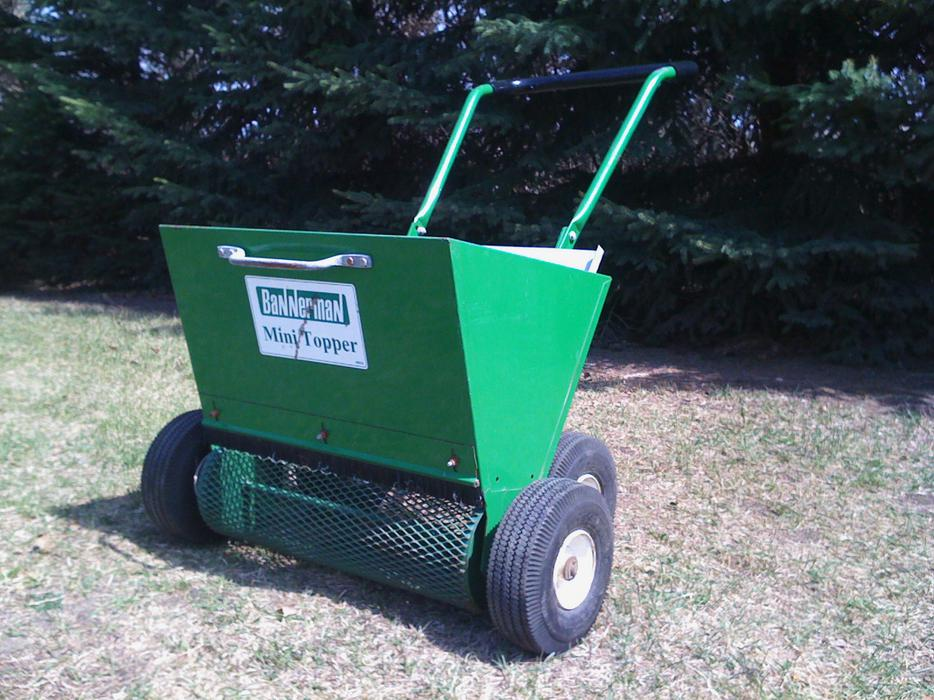equipment top dresser deere u turf complete john