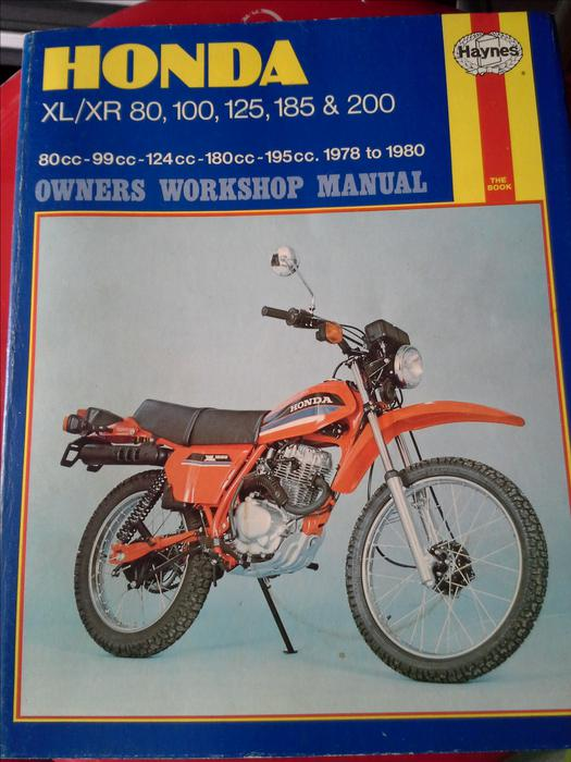 honda xl xr 80 200 1978 1980 repair manual south nanaimo. Black Bedroom Furniture Sets. Home Design Ideas