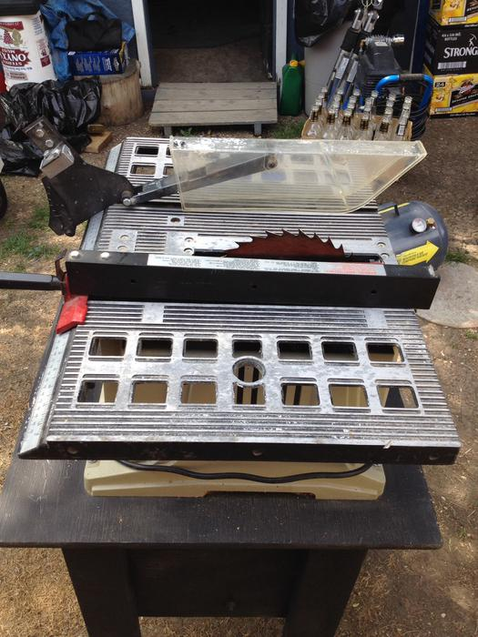 10 Table Saw With Stand For Sale North Regina Regina Mobile