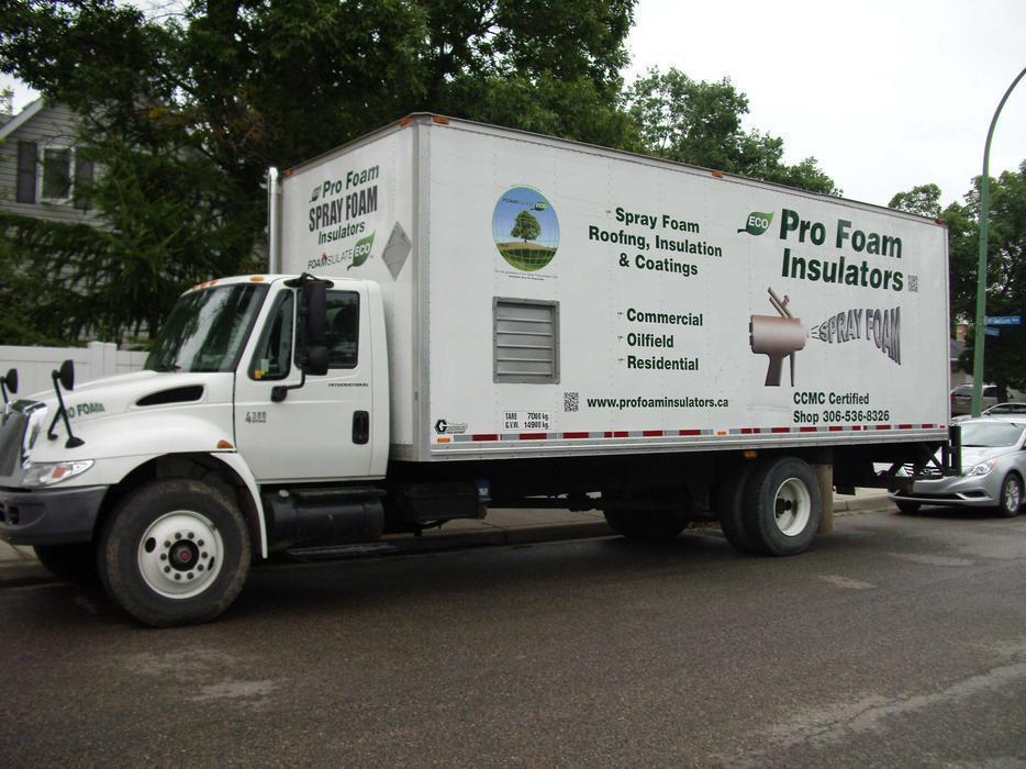 Spray foam insulation service Outside North Saskatchewan