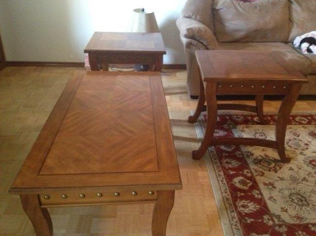 Coffee Table 2 End Tables St Vital Winnipeg Mobile