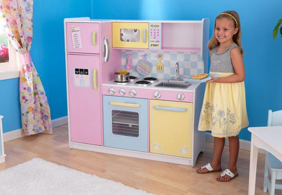kidkraft large pastel wood play kitchen West Shore Langford,Colwood