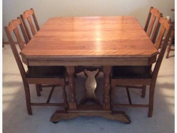 Antique Maple Dining Room Set North Regina Regina