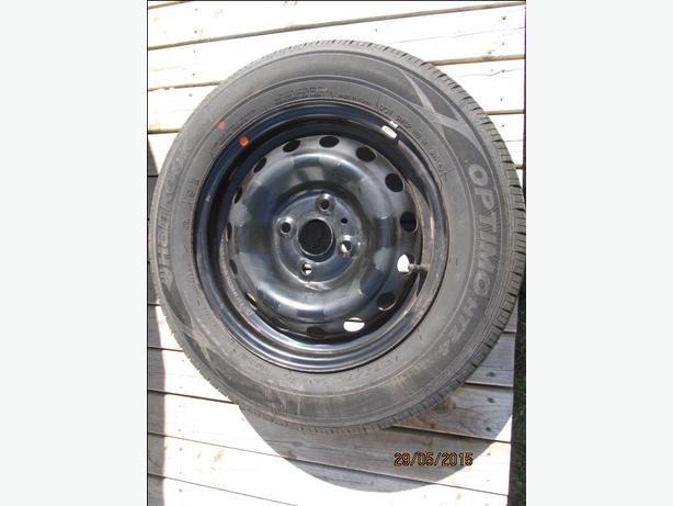 Hyundai Accent 4X100 Wheels and 175 70 14 tires
