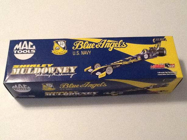 Action 1/24  Shirley Muldowney Blue Angels Top Fuel Dragster