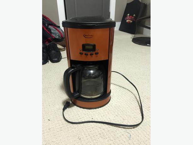 Betty Crocker Red Coffee Maker