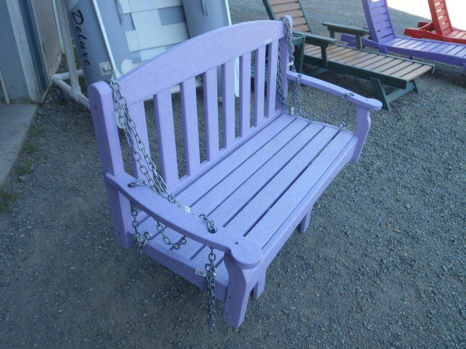Skyline 48 Swing Bench Outdoor Poly Furniture Parksville