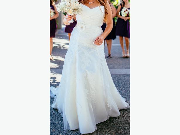 Wedding Dress Alterations Halifax : Beautiful corset style wedding dress victoria city