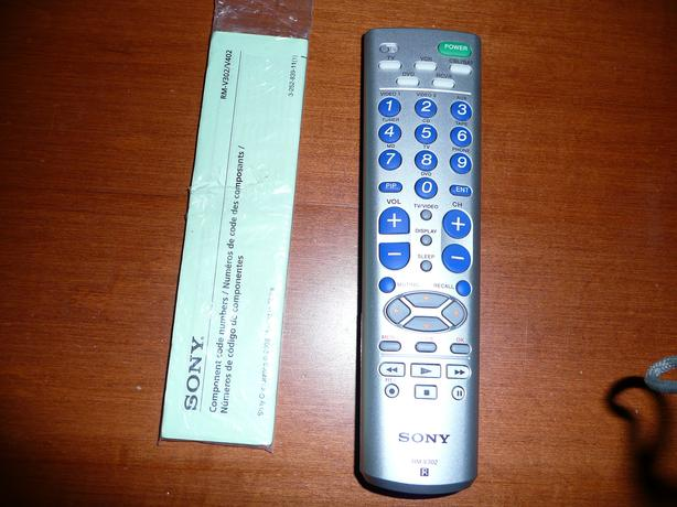 how to set universal remote to sony tv