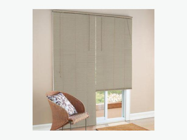 NEW 1'' Patio Door PVC Mini Blinds