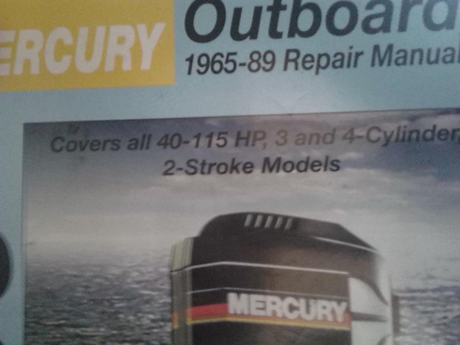 1998 mercury outboard repair manual