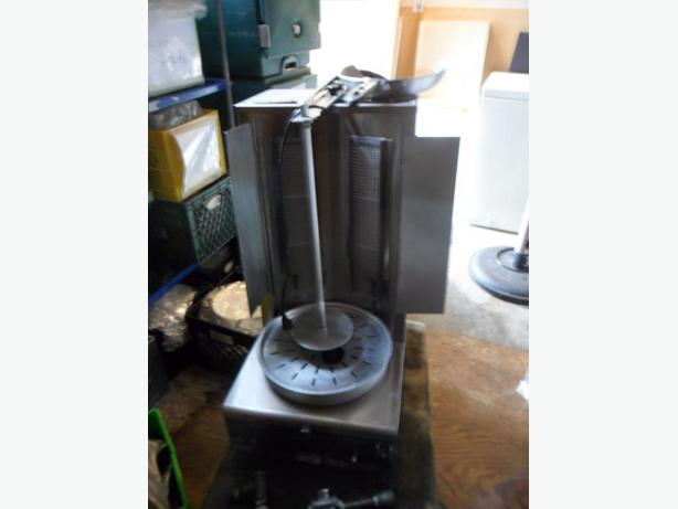 Almost New/Slightly used GAS Gyros Machine