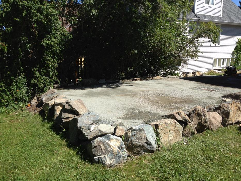 Keystone landscaping and rock work saanich victoria mobile for Landscaping rocks victoria bc
