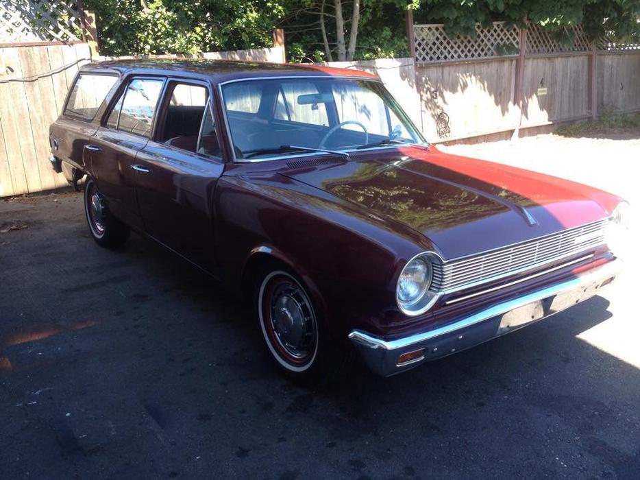 amazing 1964 rambler american 220 wagon looks runs like. Black Bedroom Furniture Sets. Home Design Ideas