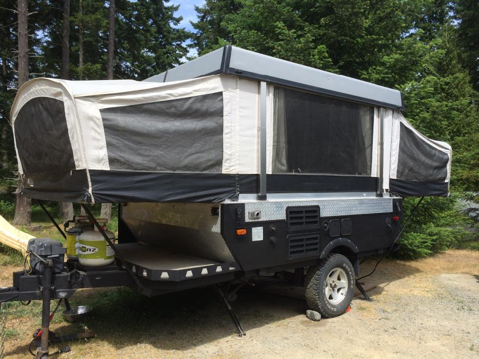 Perfect  UpToy Hauler On Pinterest  Toy Hauler Pop Up Campers And Campers