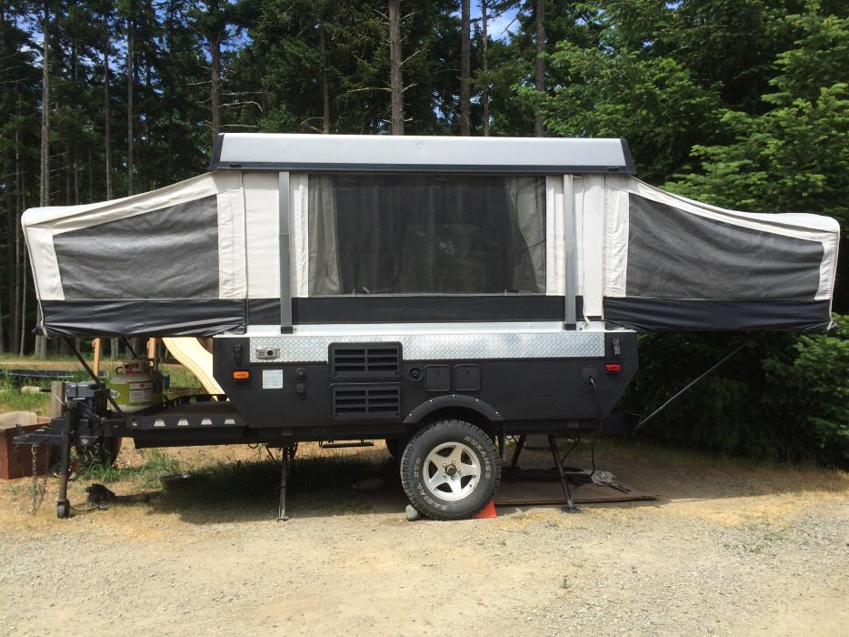 Trailers For Sale Calgary >> Fleetwood Evolution E1 Off Road Tent Trailer, Trade ...