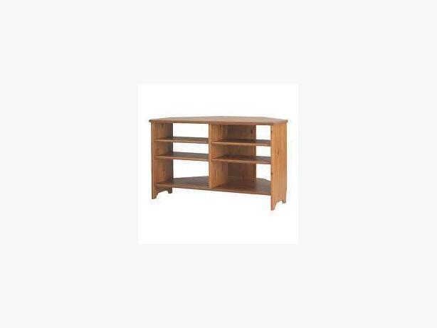 price reduced solid pine ikea corner tv stand saanich victoria mobile. Black Bedroom Furniture Sets. Home Design Ideas