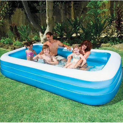large retangular blow up pool cobble hill cowichan. Black Bedroom Furniture Sets. Home Design Ideas