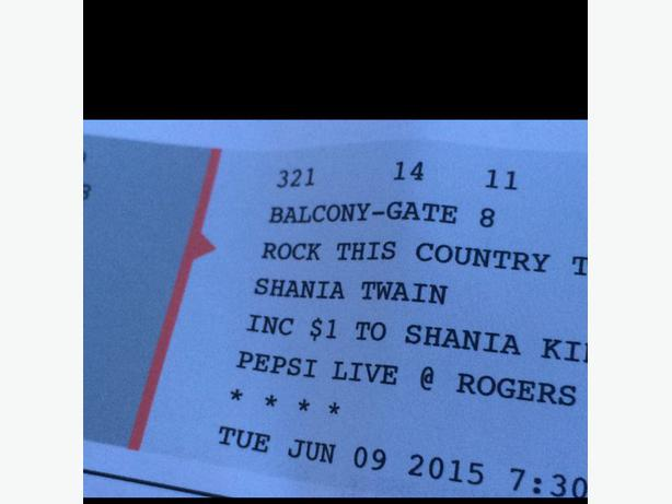 how to buy shania twain tickets