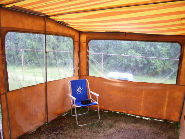 Sold Canvas Quot Add A Room Quot For 1984 Bonair Tent Trailer Not