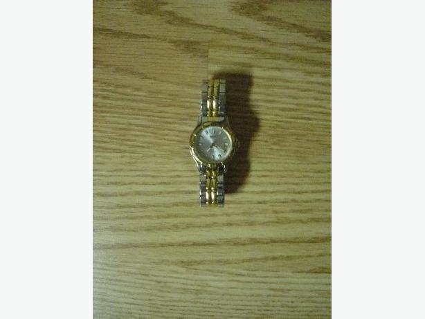 Like New 2 Tone Gold and Silver Seiko Quartz Watch! $100