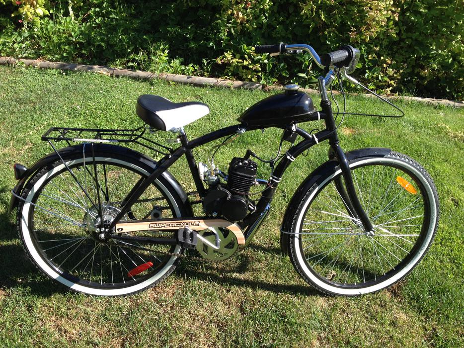 80cc Skyhawk Motorized Bicycle Mint 400 Central