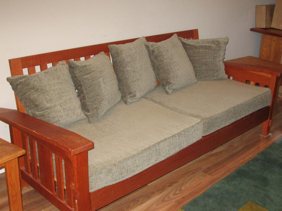 Mission Style Custom Couch West Shore Langford Colwood